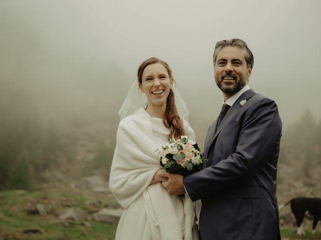 Il matrimonio di Gianluca e Elisa a Alagna Valsesia, Vercelli 1
