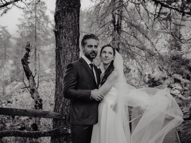 Il matrimonio di Gianluca e Elisa a Alagna Valsesia, Vercelli 35