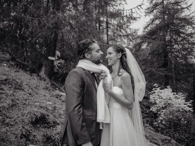 Il matrimonio di Gianluca e Elisa a Alagna Valsesia, Vercelli 37