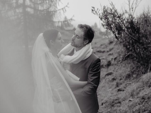 Il matrimonio di Gianluca e Elisa a Alagna Valsesia, Vercelli 38