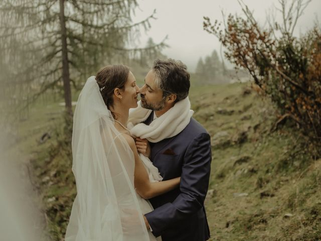 Il matrimonio di Gianluca e Elisa a Alagna Valsesia, Vercelli 39