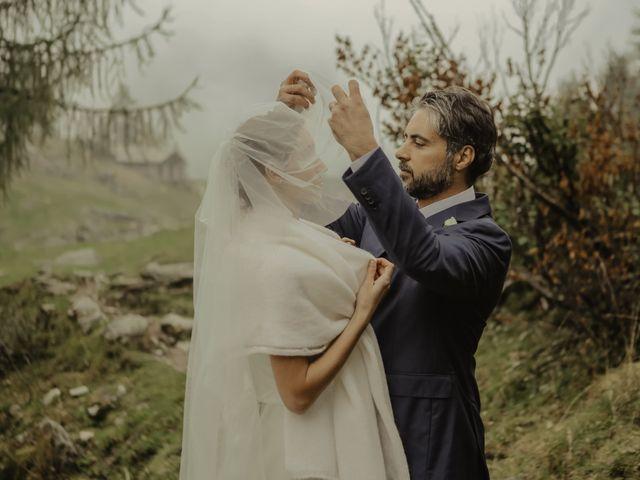 Il matrimonio di Gianluca e Elisa a Alagna Valsesia, Vercelli 41