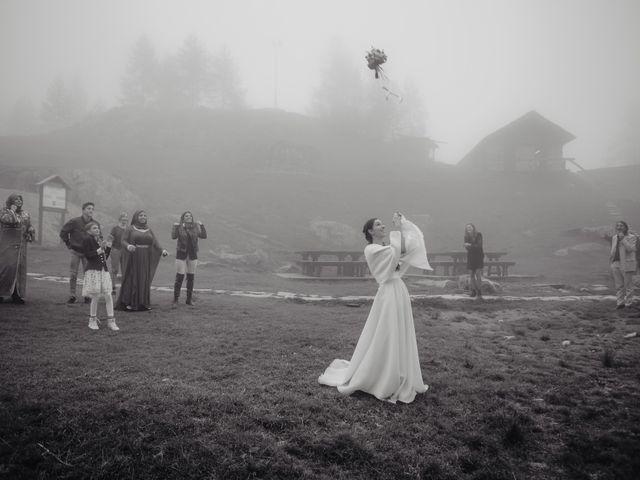 Il matrimonio di Gianluca e Elisa a Alagna Valsesia, Vercelli 43