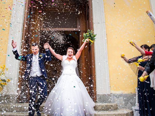 Il matrimonio di Diego e Alice a Vanzago, Milano 19