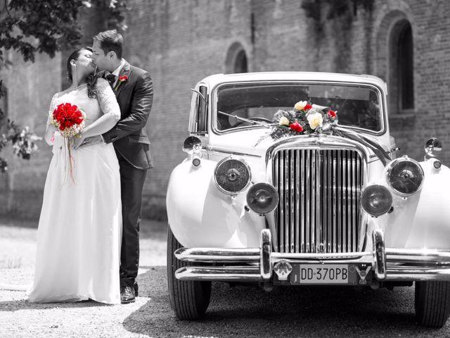 Il matrimonio di Andrea e Elisa a Liscate, Milano 9