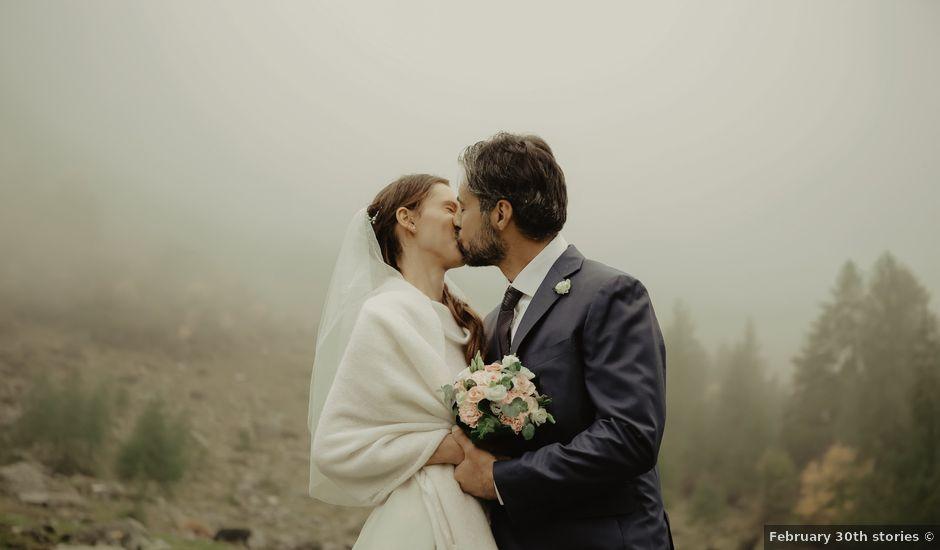 Il matrimonio di Gianluca e Elisa a Alagna Valsesia, Vercelli