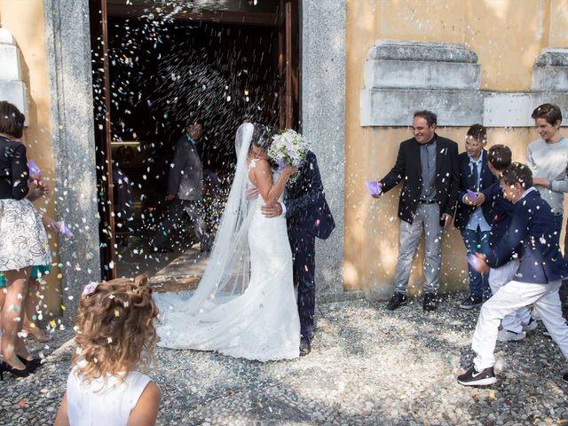 Il matrimonio di Massimo e Sara a Carate Urio, Como 14