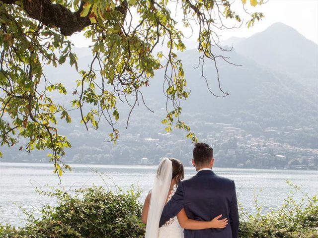 Il matrimonio di Massimo e Sara a Carate Urio, Como 17