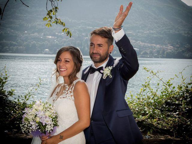 Il matrimonio di Massimo e Sara a Carate Urio, Como 20