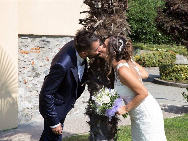 Il matrimonio di Massimo e Sara a Carate Urio, Como 28
