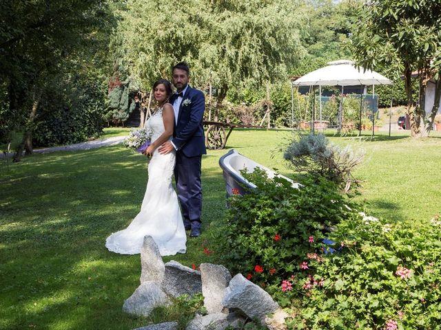 Il matrimonio di Massimo e Sara a Carate Urio, Como 29