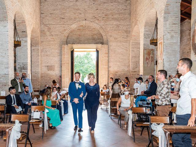 Il matrimonio di Enrico e Ginevra a Bagnacavallo, Ravenna 20
