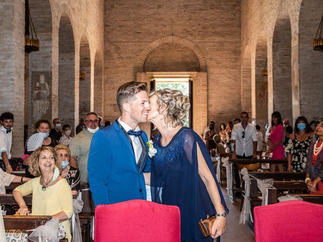 Il matrimonio di Enrico e Ginevra a Bagnacavallo, Ravenna 21