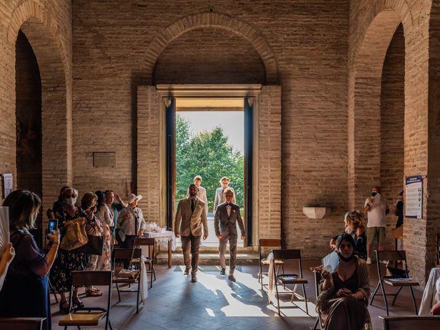Il matrimonio di Enrico e Ginevra a Bagnacavallo, Ravenna 25