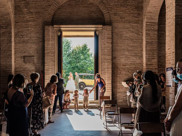 Il matrimonio di Enrico e Ginevra a Bagnacavallo, Ravenna 29
