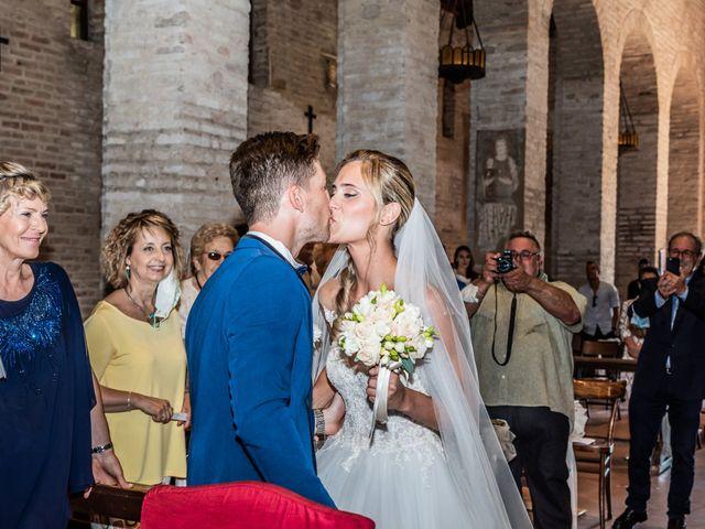 Il matrimonio di Enrico e Ginevra a Bagnacavallo, Ravenna 33