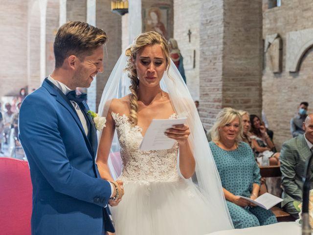 Il matrimonio di Enrico e Ginevra a Bagnacavallo, Ravenna 39