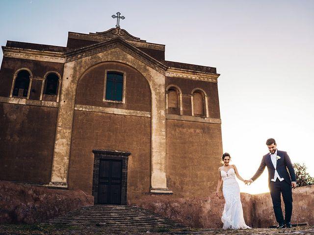 Il matrimonio di Stefania e Carmelo a Adrano, Catania 24