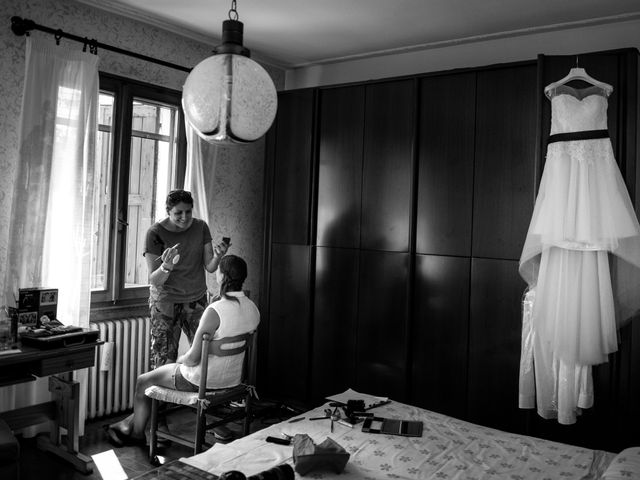 Il matrimonio di Luca e Francesca a Albinea, Reggio Emilia 4
