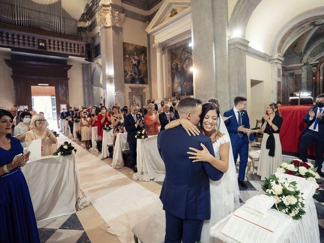Il matrimonio di Roberto e Valeria a Rocca di Papa, Roma 19