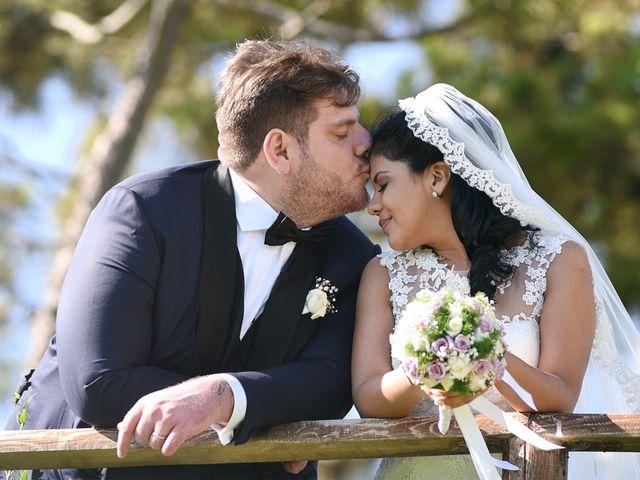 le nozze di Rocio e Giorgio