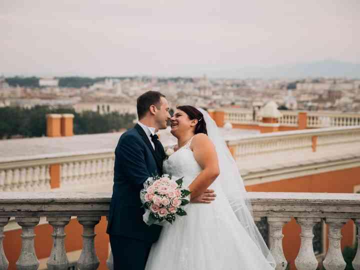 le nozze di Elisa e Luca
