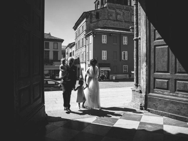 Il matrimonio di Michele e Romina a Castell'Arquato, Piacenza 1