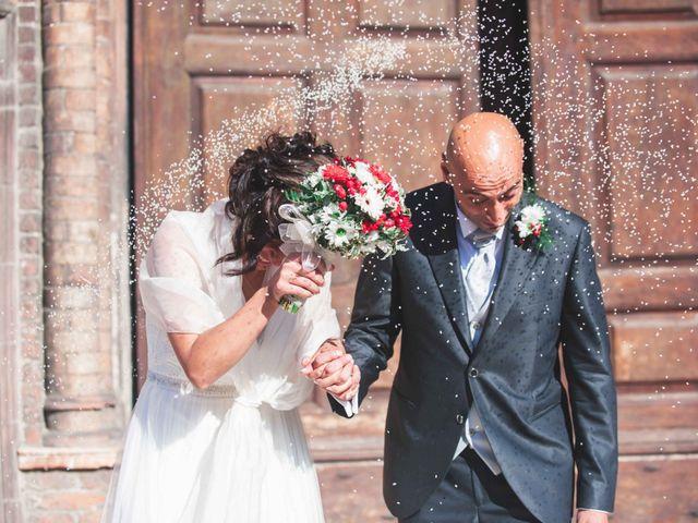 Il matrimonio di Michele e Romina a Castell'Arquato, Piacenza 14