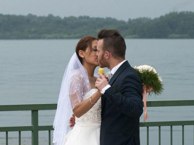 Le nozze di Esthefany e Andrea