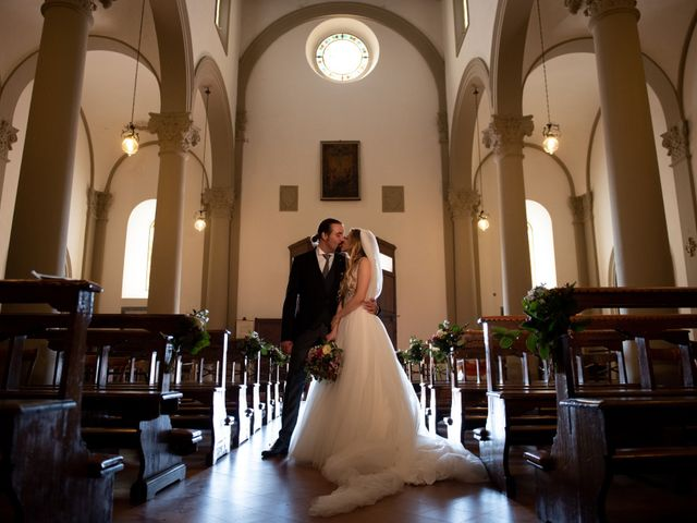 Il matrimonio di Francesco e Alice a Montespertoli, Firenze 12