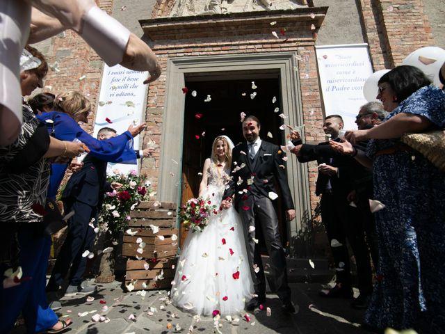 Il matrimonio di Francesco e Alice a Montespertoli, Firenze 14