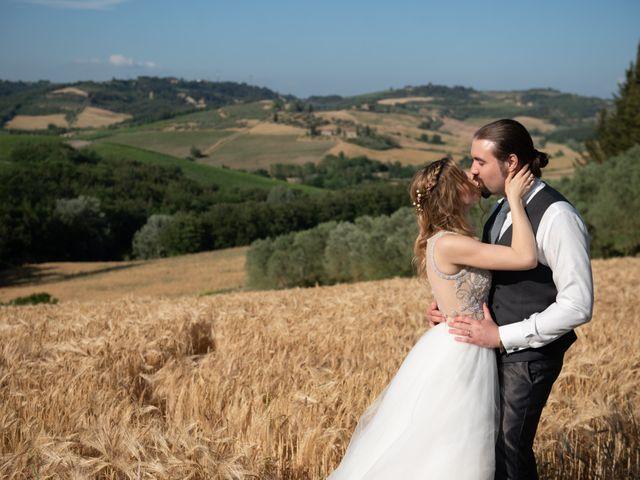 Il matrimonio di Francesco e Alice a Montespertoli, Firenze 25