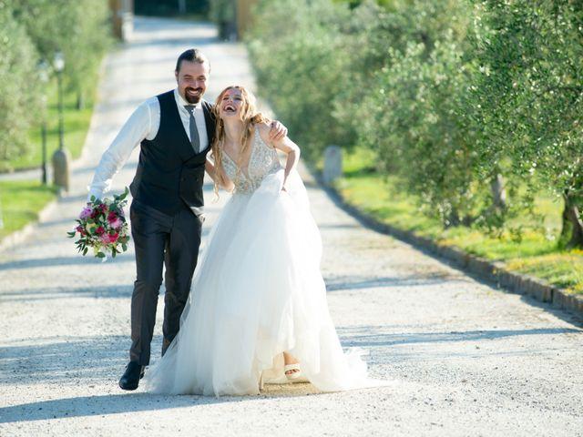 Il matrimonio di Francesco e Alice a Montespertoli, Firenze 27