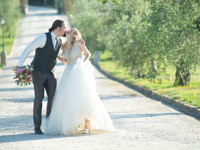 Il matrimonio di Francesco e Alice a Montespertoli, Firenze 28
