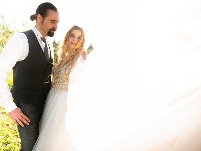 Il matrimonio di Francesco e Alice a Montespertoli, Firenze 29
