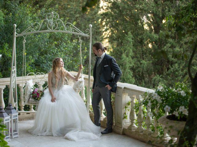 Il matrimonio di Francesco e Alice a Montespertoli, Firenze 1