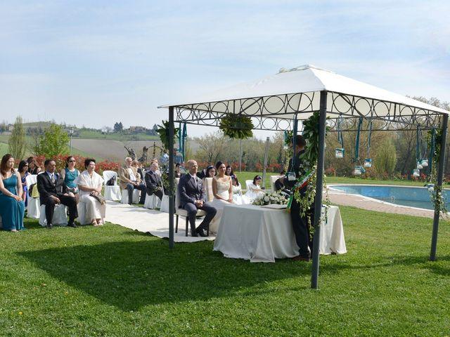 Il matrimonio di Flordeliz e Maurizio a Cereseto, Alessandria 9