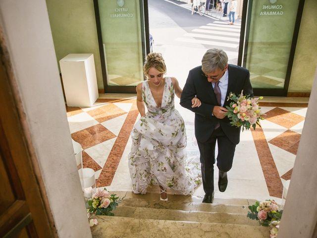 Il matrimonio di Federico e Francesca a Gambara, Brescia 19