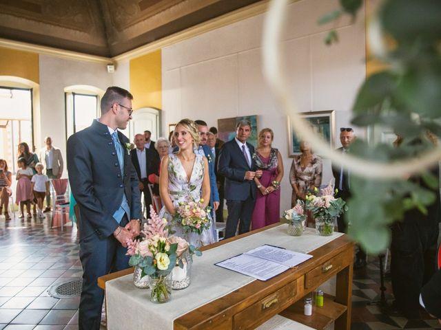 Il matrimonio di Federico e Francesca a Gambara, Brescia 23