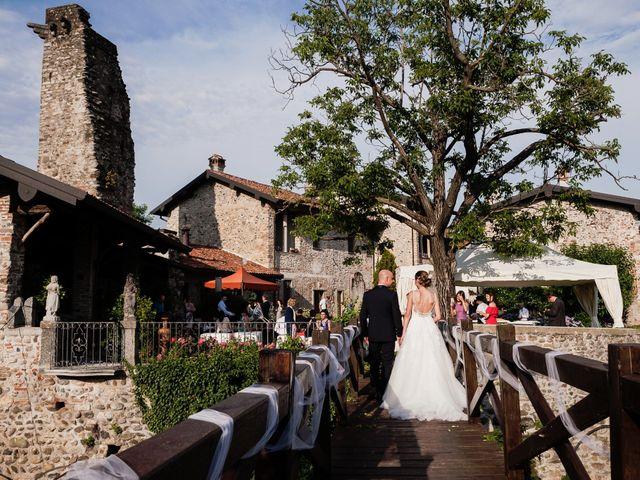 Il matrimonio di Luca e Elena a Cernusco Lombardone, Lecco 37