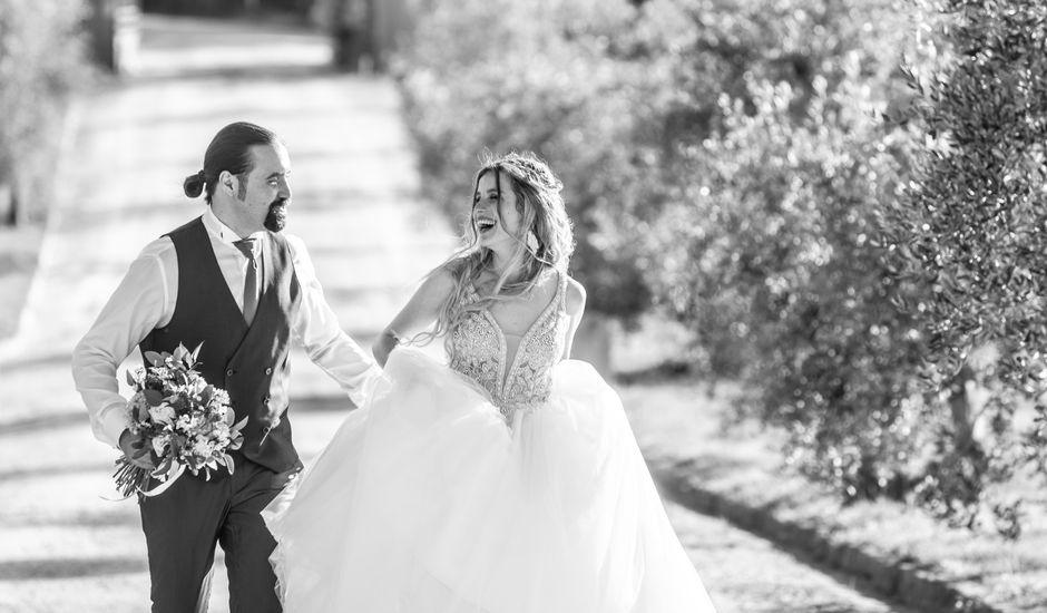 Il matrimonio di Francesco e Alice a Montespertoli, Firenze