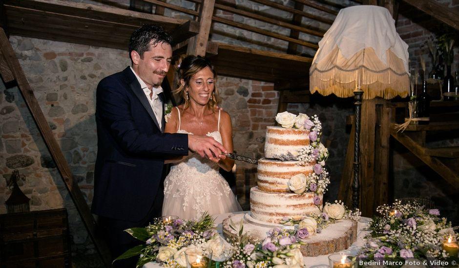 Il matrimonio di Andrea e Elena a Piacenza, Piacenza