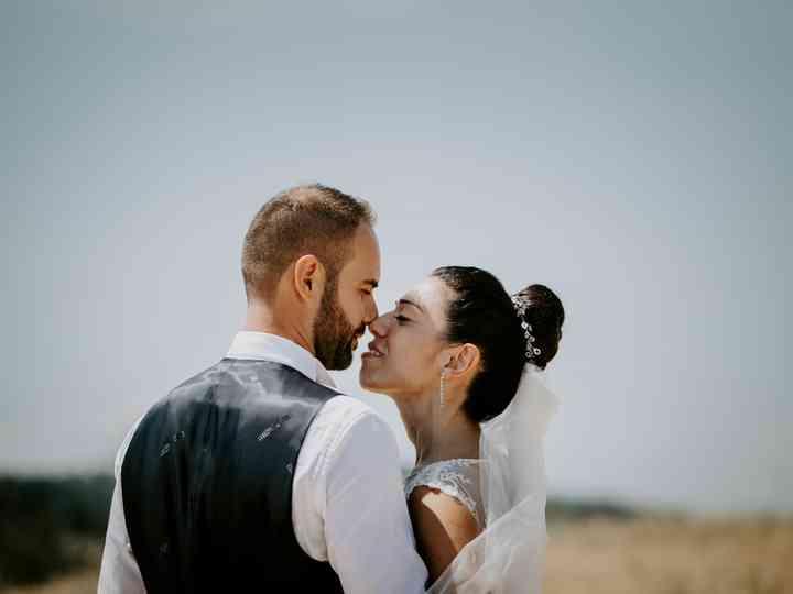 le nozze di Marika e Luca