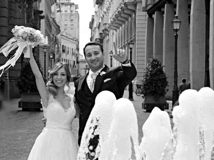 Le nozze di Ambra e Mario