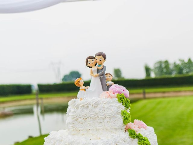 Il matrimonio di Luigi e Arianna a Salvirola, Cremona 82