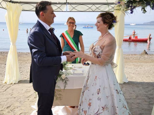 Il matrimonio di Dominga e Claudio a Castiglione della Pescaia, Grosseto 18