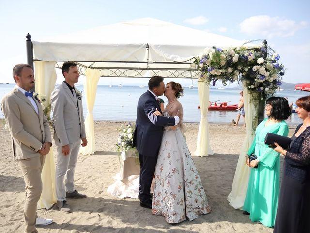 Il matrimonio di Dominga e Claudio a Castiglione della Pescaia, Grosseto 19