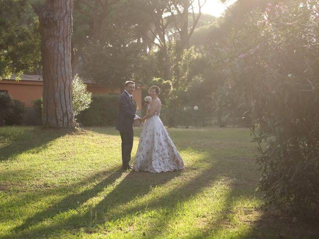 Il matrimonio di Dominga e Claudio a Castiglione della Pescaia, Grosseto 23