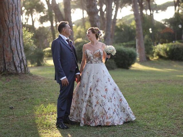 Il matrimonio di Dominga e Claudio a Castiglione della Pescaia, Grosseto 26