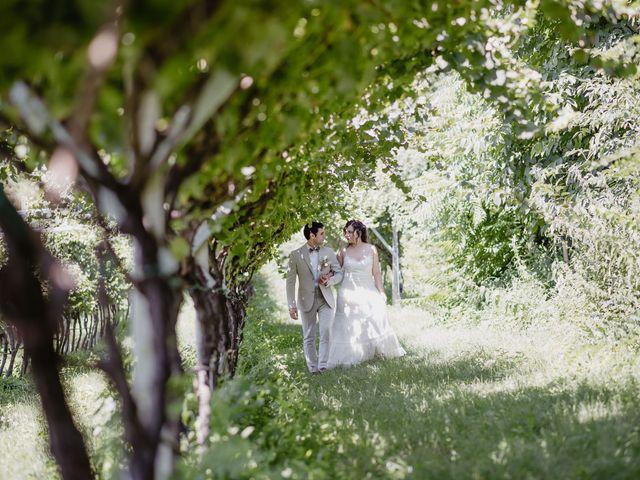 Il matrimonio di Stefano e Carol a Levico Terme, Trento 30